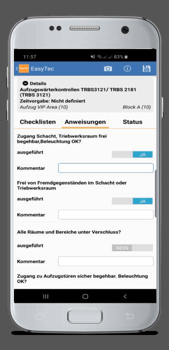 Smartphone Checkliste